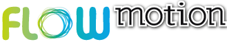 Logo Flow Motion Juice & Smoothie Bar